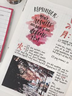 """tomi-letters: """" 23.10.16 bujo spread this week was again inspired by the wonderful kOu & her amazing photos at @seigakun !!! photo credits to her ahaha (o^^o) my exam results were released this week and I did…alright, I guess? but I think what's more..."""