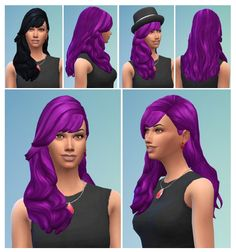 Romantic Curls with Bangs at Birksches Sims Blog • Sims 4 Updates