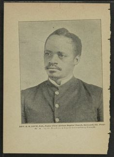 Image 2 of Annual address of Rev., president, Missionary Baptist Convention of Georgia . African American Genealogy, African American History, Interesting Photos, Cool Photos, Library Of Congress, Black History, Savannah Chat, Division, Nashville