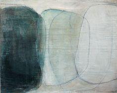 la forme du ciel by Karine Leger / le temps est un bateau - acrylic on canvas http://letempsestunbateau.blogspot.com/2013/04/la-forme-du-ciel-5.html