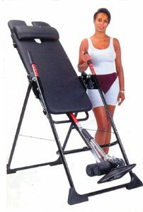 how to use an inversion table for lower back pain
