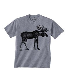 Another great find on #zulily! Gray Moose Tee - Toddler & Kids by Skip N' Whistle #zulilyfinds