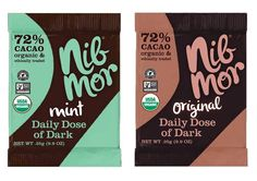 http://foodtrainers.bigcartel.com/product/daily-dose-of-dark  MibMor Daily Dose of Dark: the perfect single serving of dark chocolate to satisfy your sweet tooth and give you the antioxidants your body needs! Organic I Vegan I Gluten Free I Dairy Free I Non GMO I