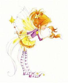 Девочки и феечки художника-иллюстратора Марины Федотовой. Обсуждение на LiveInternet - Российский Сервис Онлайн-Дневников