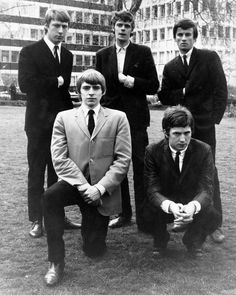 Yardbirds with Eric Clapton. #TheYardbirds