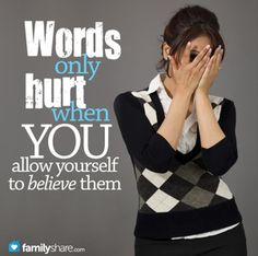 How to look past hurtful remarks