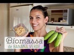 Como fazer BIOMASSA de Banana Verde - YouTube