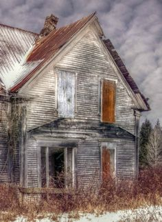 Abandoned house in Canada.