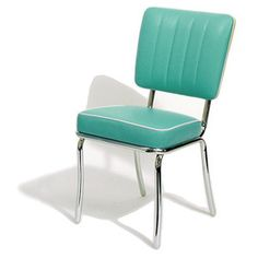 Diner retro aqua chair