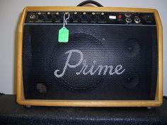 prime electrical-acoustic guitar ampilifer w/mic.model # ca30-rc,wood cabinet  #prime