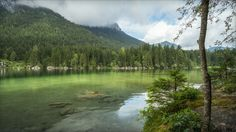 Lake Hintersee - Lake Hintersee / Bavaria