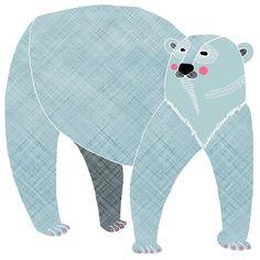Polar Bear/ not quite blue