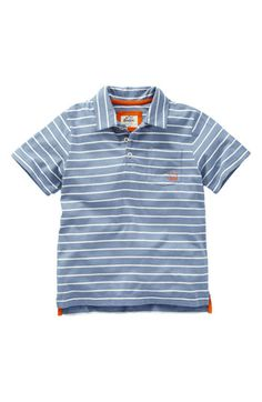 Mini Boden Jersey Polo (Toddler) available at Nordstrom