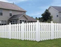 Excellent White Vinyl Dog Ear Fence And White Vinyl Fence Orlando