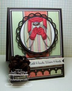 MFT WTG Gets Cozy With Cocoa  Gets Cozy With Cocoa    Paper: Hot Fudge (MFT), Choice Buttercream (TE) and Rosy (My Minds Eye)    Ink: Memento Tuxedo Black    Accessories: Copic Markers, Dizzy Doily Duo Die-Namics, First Place Award Ribbon Die-Namics, Sweet Stack Labels Die-Namics, Crown Border Die-Namics, Loopy Bloom Die-Namics, My Favorite Felt in Chocolate Fudge and Jody