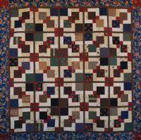 Nine Patch Magic quilt pattern
