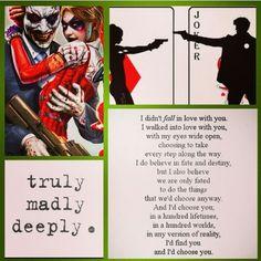 Joker/Harley Mad Love