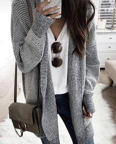 Nouveau femme tricot style boyfriend ouvert cardigan cascade long sleevees femmes pull