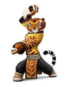 Master Tigress visits the Orphanage with Shifu for teaching the orphans Kung Fu