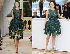 Zhang Ziyi In Giambattista Valli Couture – Jury 'Un Certain Regard' Cannes Film Festival Photocall
