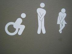 Toilet Sign in Glasgow