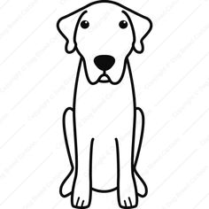 Anatolian Shepherd Dog | Linear Edition | Dog Breed Cartoon | Download Your Breed Now! Then print it! Frame it! Love it! Or create your own memorabilia!