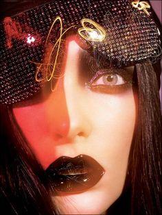 Richard Burbridge's fashion photos - Miss Asphixia Richard Burbridge, Pat Mcgrath Makeup, Id Magazine, Magazine Covers, High Fashion Photography, Fantasy Makeup, Beauty Editorial, Face Art, Art Faces