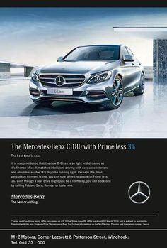 The Mercedes-Benz C 180 with Prime less 3% - M+Z MOTORS C Class Mercedes, Mercedes Benz, Benz C, Motors, Motorbikes