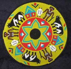 Africa | ' Zulu Warriors and Cattle'. Telephone wire basket by Bonisile. South Africa | Cattle play an important role in the dowry of a Zulu woman and this plate illustrates the importance of this in Zulu culture.