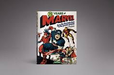 This is the 75 Years of Marvel, by Roy Thomas from Verge's 2014 Holiday Gift Guide: http://www.theverge.com/a/holiday-gift-ideas-2014/100-300/#75-years-of-marvel-by-roy-thomas