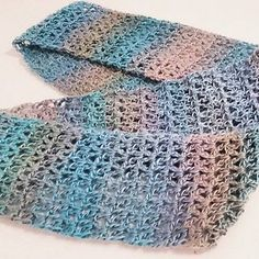 Cricket's V Stitch Infinity Scarf is quick and easy and very satisfying. When you need to work something up last minute for a gift or just need a break from your larger WIPs this infinity scarf is the way to go.