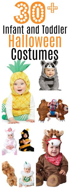 Mega-list of over 30 Halloween costumes for boys and girls! Minion Halloween, Halloween Outfits, Maske Halloween, Toddler Halloween Costumes, Halloween Books, Family Costumes, Boy Costumes, Baby Halloween, Halloween Crafts