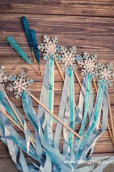 "being MVP: DIY ""Frozen"" Elsa Magic Wands 