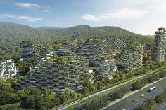 O projeto feito do zero incluí 40 mil árvores e quase um milhão de plantas
