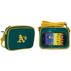 Oakland Athletics Cross Body Purse with Touchscreen - Green - $29.99