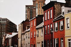 Baltimore, Maryland, United States---Little Italy. My friends Ray and Maryanne live in one of those homes.