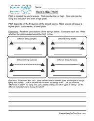 Mechanical Energy Worksheets 4th Grade - Studimages.com | Education
