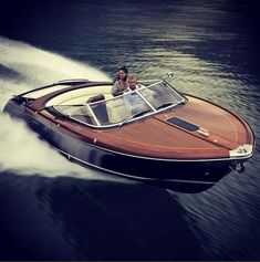 Riva Yacht added a new photo. Riva Boat, Yacht Boat, Sailing Boat, Cool Boats, Small Boats, Jet Privé, Wooden Speed Boats, Classic Wooden Boats, Wood Boat Plans
