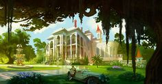 Visual Development from The Princess and the Frog