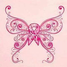 october breast cancer awareness month butterfly - I don't like tattoos but if I were a survivor, I might consider this...very small maybe on my back shoulder....