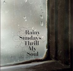 Love Rainy Sunday's! Movies ,snuggling and Roast ❤️ Rainy Day Quotes, Sunday Quotes, Happy Quotes, Karma Quotes, Morning Quotes, Life Quotes, I Love Rain, No Rain, Sound Of Rain
