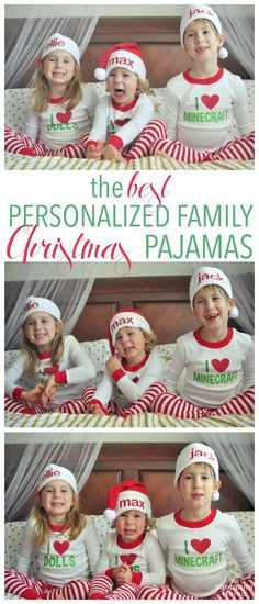 Family Holiday Style: The BEST Christmas Pajamas | Make a statement and show some personality with PJs that reflect your kids. What a fun way to document their interests and capture great photos throughout the holiday season. Holiday Style, Family Holiday, Holiday Fashion, Holiday Outfits, Holiday Fun, Kids Fashion, Christmas Pajamas, Christmas Time, Christmas Sweaters