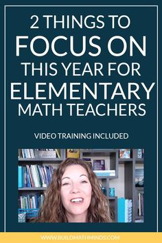 As you start off the school year, I want you to keep in mind what is really important as we're trying to teach mathematics to our students. Math Literacy, Math Teacher, Fun Math, Maths, Teaching Tips, Teaching Math, Mind Reading Tricks, Math Coach, 5th Grade Math