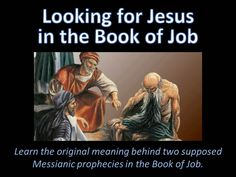 Looking for Jesus in the Book of Job
