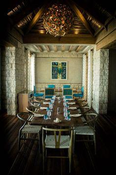 Great Turquoiz Beach Lounge And Restaurant Interior.