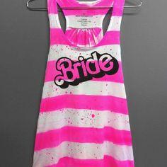 Bachelorette party Barbie shirt!! Love! Etsy.com ... for Katie!