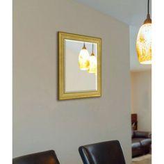 Rayne Vintage Gold Wall Mirror, Multicolor