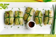 Cabbage rolls with meat and vegetables