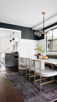 Dining Room Inspiration, Home Decor Inspiration, Interior Design Studio, Interior Design Living Room, Modern Home Interior, Estilo Craftsman, Craftsman Trim, Craftsman Exterior, Craftsman Remodel
