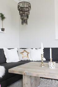 Fridas lille hjem: DIY-STUEBORD Home Decor, Decoration Home, Room Decor, Home Interior Design, Home Decoration, Interior Design